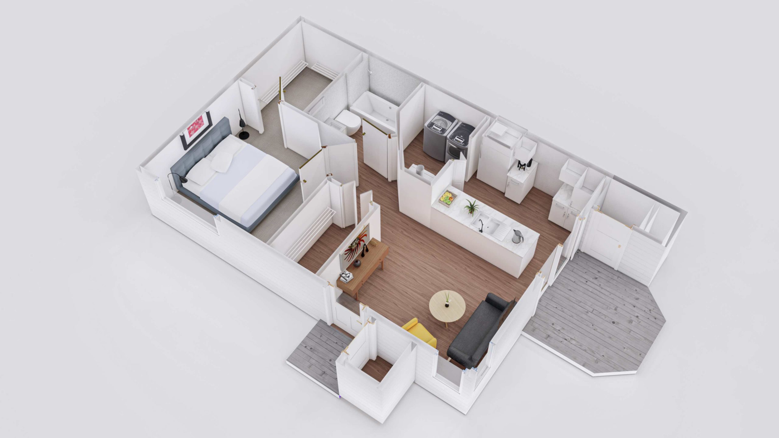 Oak 3D Floorplan