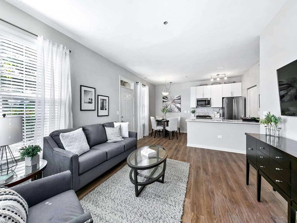 Inside of HighPoint Reflections Apartment