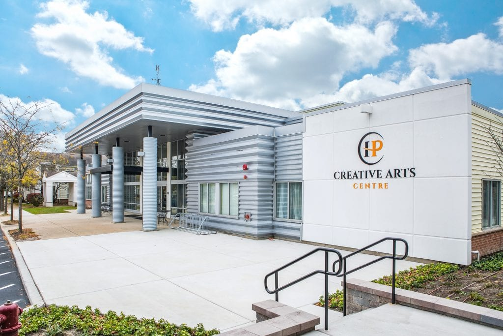 Exterior of Creative Arts Centre
