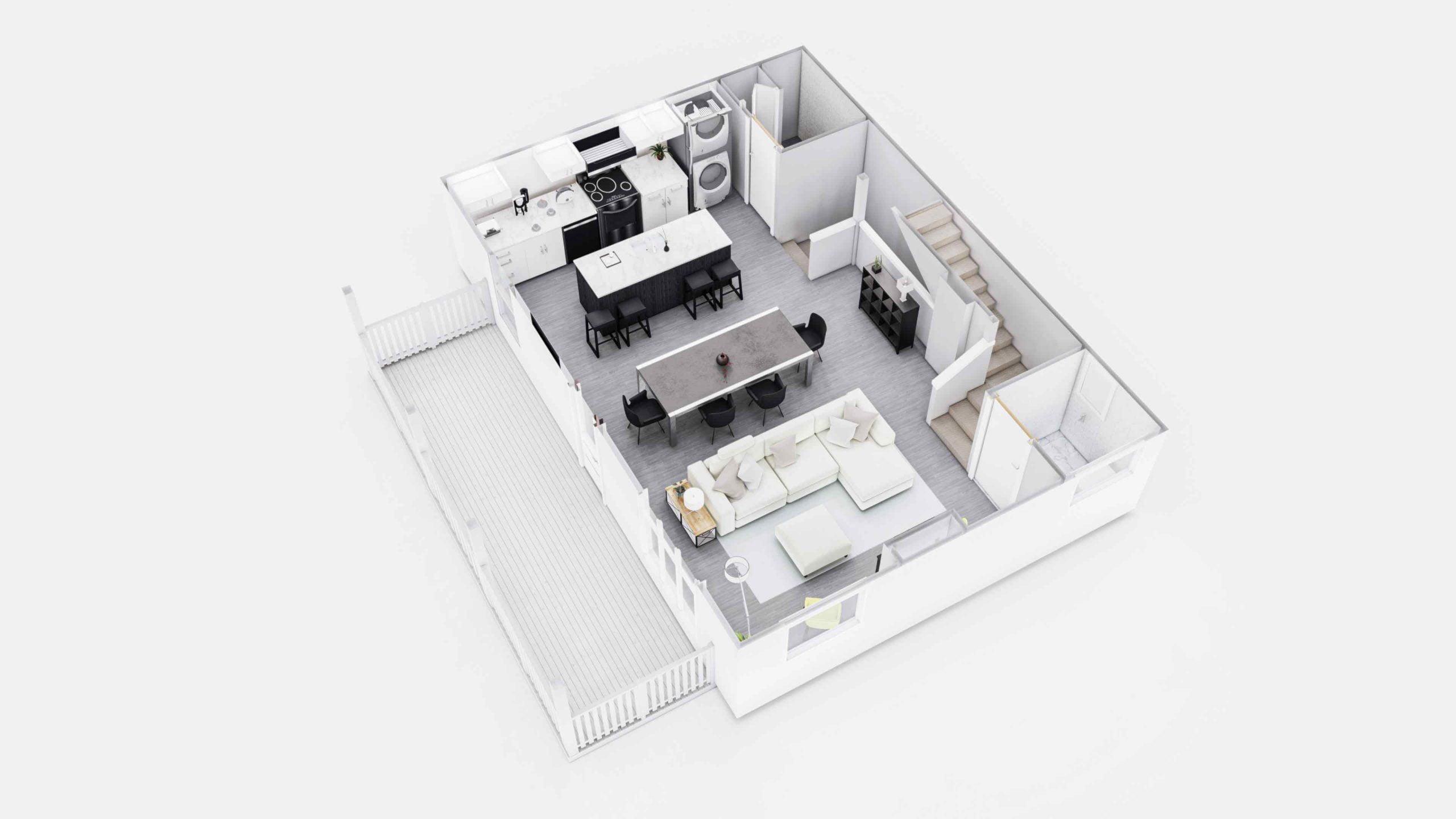 Everglade 3D Floor Plan