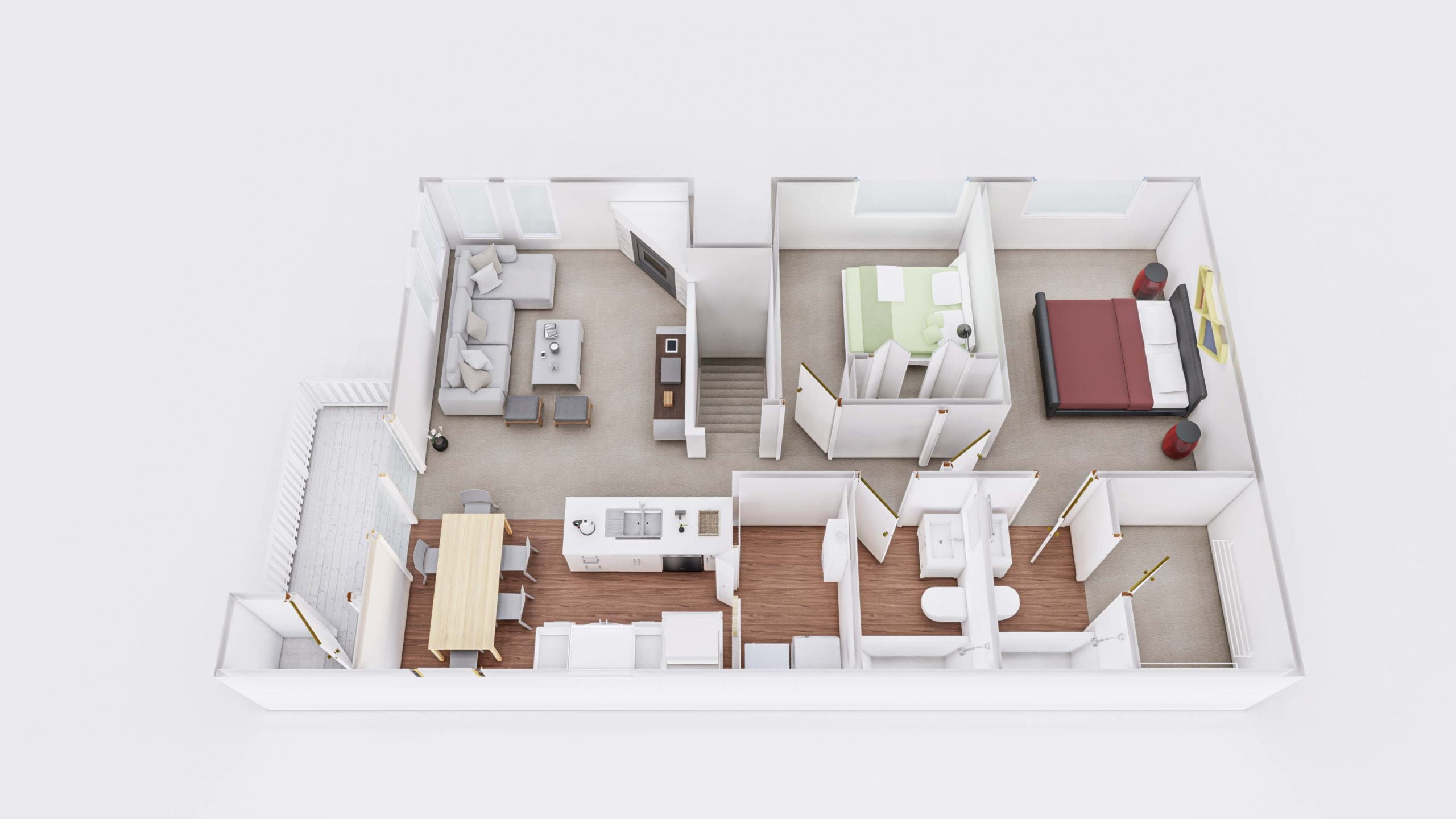 Meadows 2 3D Floor Plan