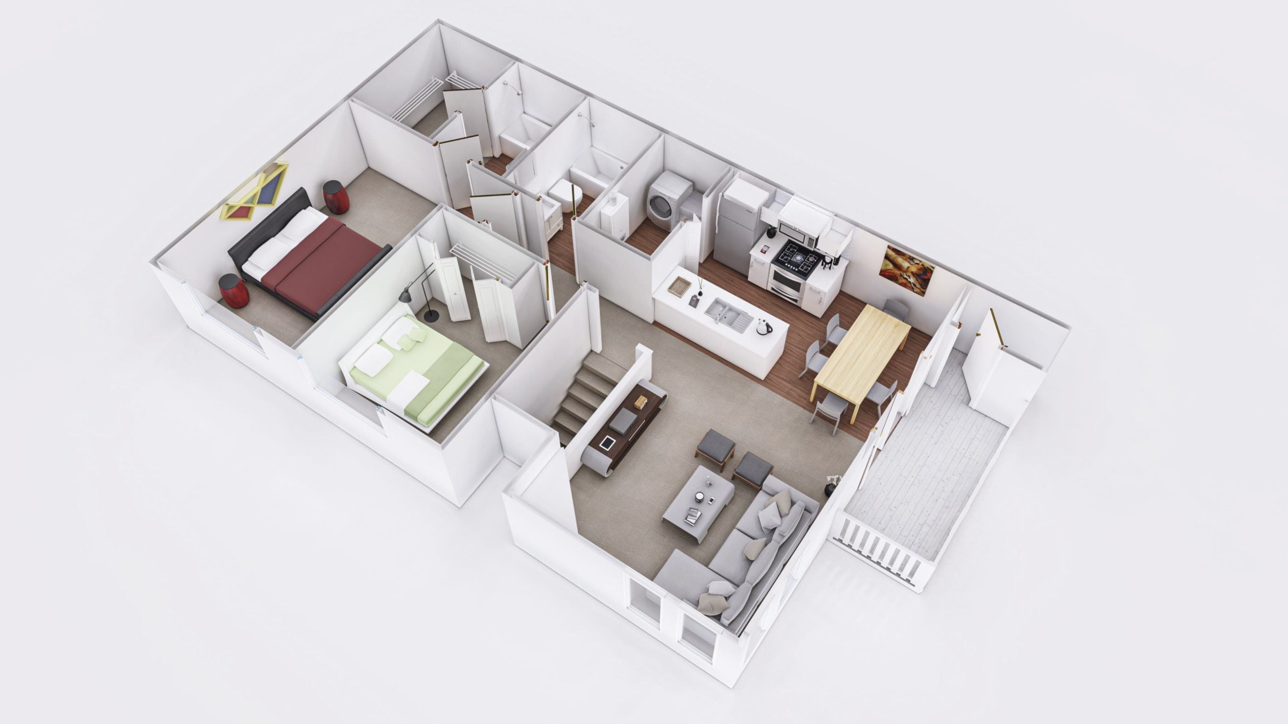 Meadows 3D Floor Plan