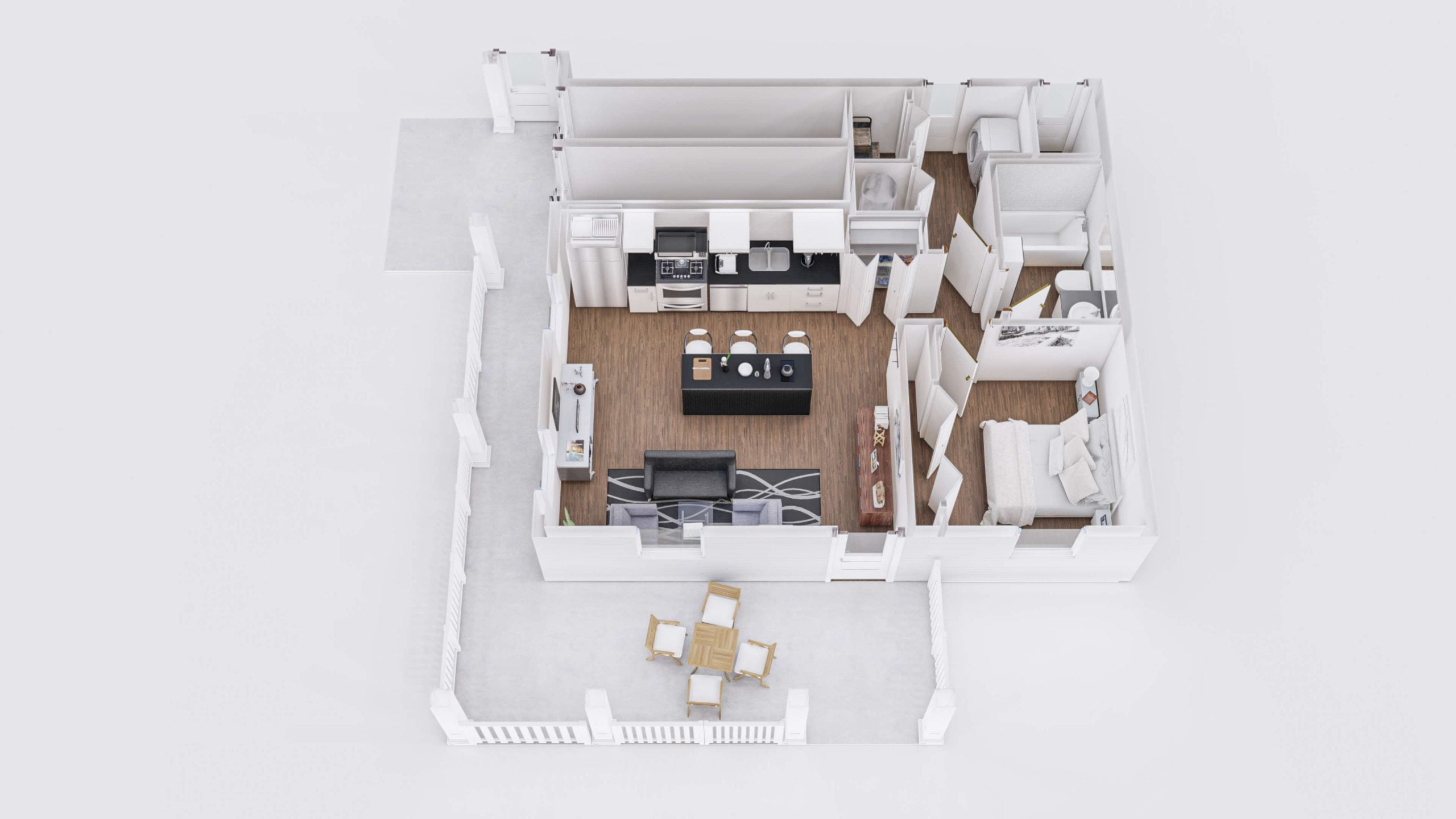 Zion 1 3D Floor Plan